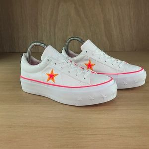 NEW Converse One Star Platform Ox Low Top Raccer